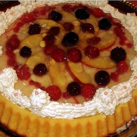 gyümölcs torta képek Egyszerű, de nagyszerű gyümölcstorta Recept képpel   Mindmegette  gyümölcs torta képek