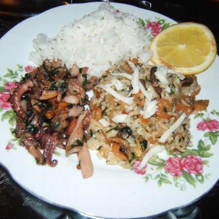 Tengeri rizs látásra