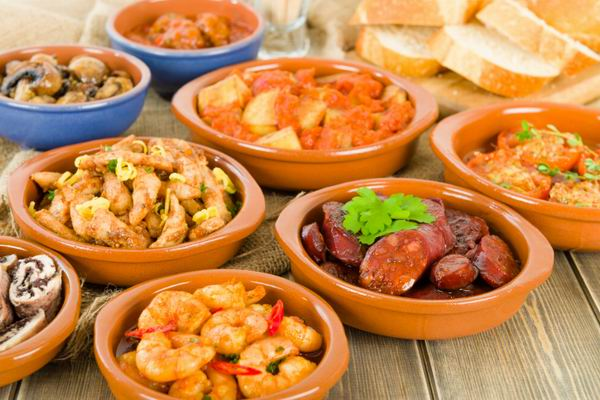 alacsony szénhidráttartalmú spanyol étrend