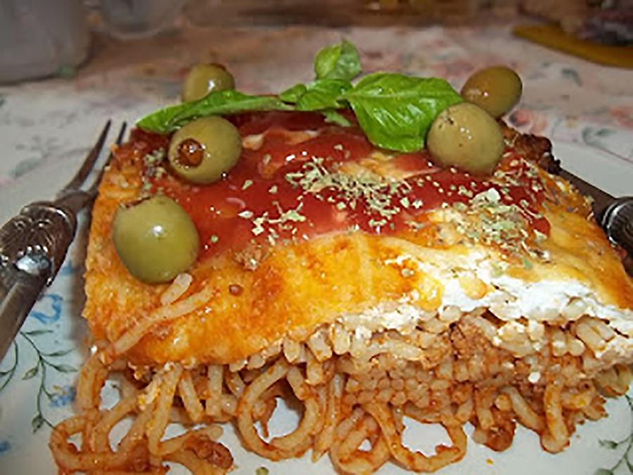 Csőben sült spagetti gazdagon Recept képpel - Mindmegette.hu - Receptek