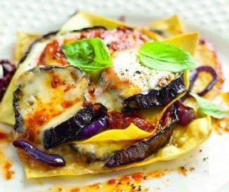 Padlizs�nos-paradicsomos lasagne