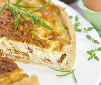 Quiche Lorraine (francia pitetorta)