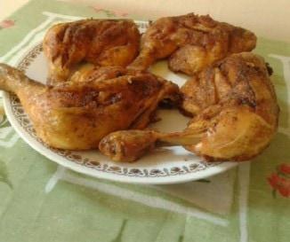 S�lt csirke egyszer�en