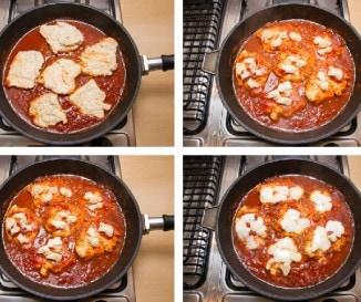 Vacsora 30 perc alatt: parmez�nos csirke - l�p�sr�l l�p�sre