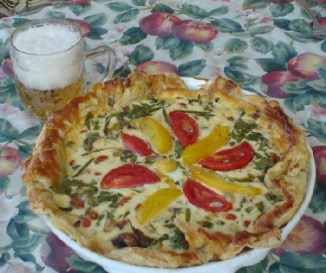 Z�lds�ges quiche