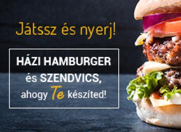 H�zi hamburger �s szendvics, ahogy te k�sz�ted! Mindmegette Vill�mvereny - J�t�kszab�ly