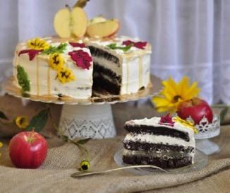 Alm�s-karamell�s torta