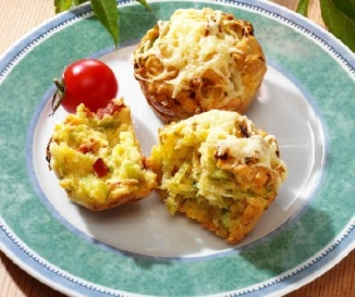Z�ldf�szeres muffin