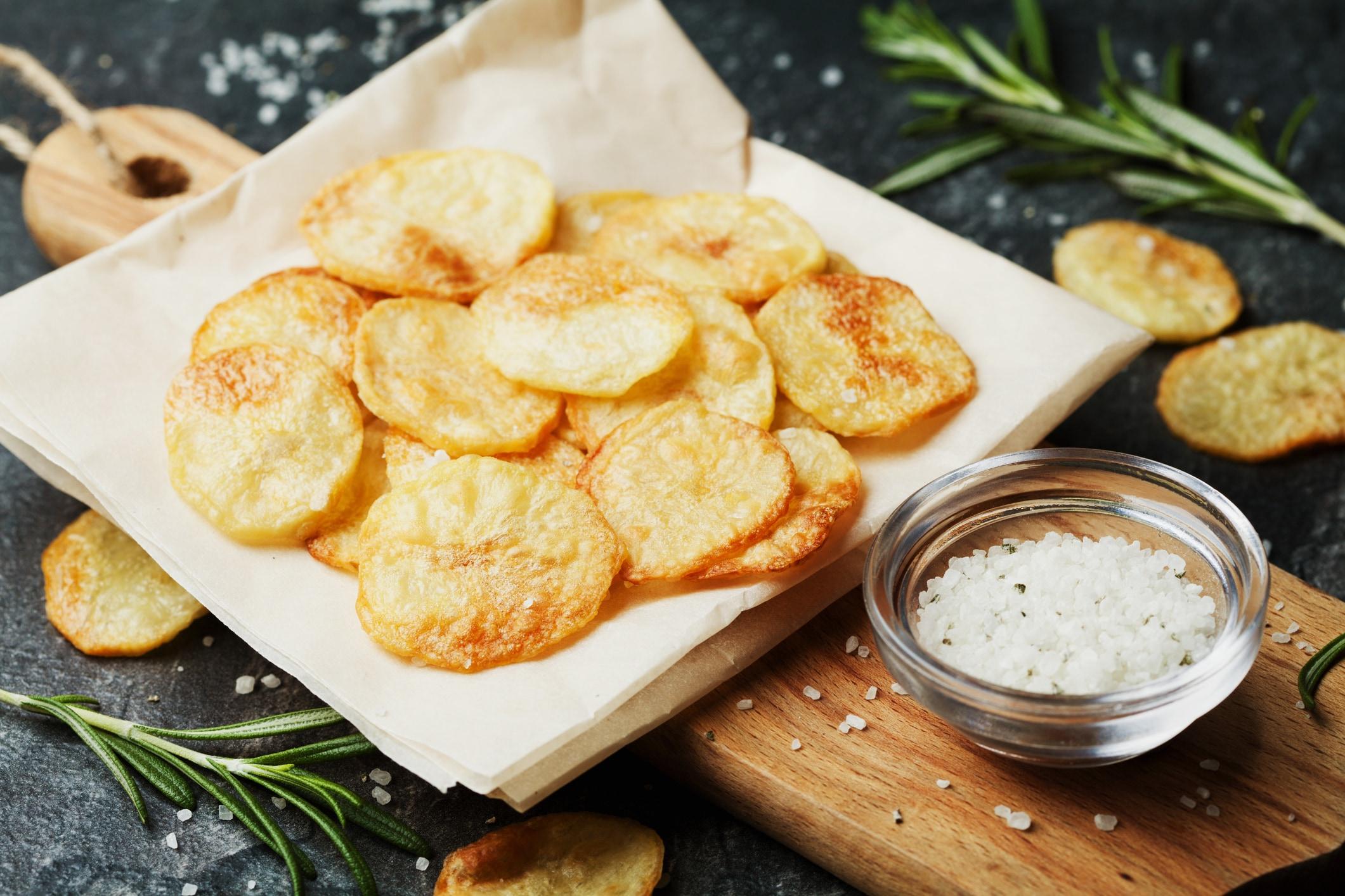 Картинки по запросу картофельные чипсы в духовке