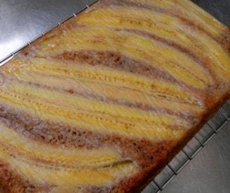 Fűszeres-banános süti
