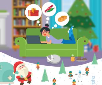 Kis karácsony, nagy bevásárlás! 40 százalékos forgalomnövekedés az online bevásárlásban