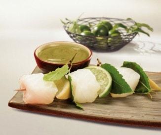 Thai wasabis mustárszósz
