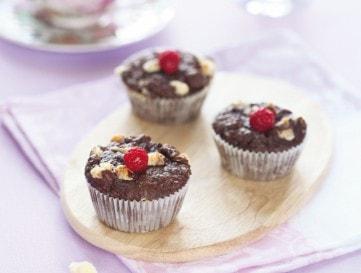 Csokis muffin mandulával