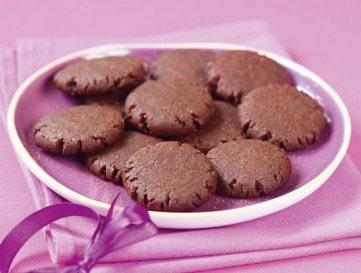 Málnás-csokis keksz
