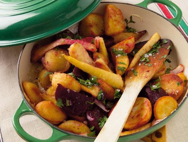 Gyökérzöldség recept