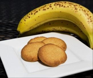Egyszerű banános keksz