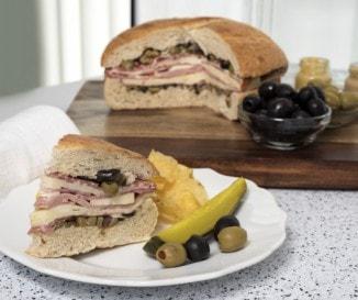 Muffuletta szendvics