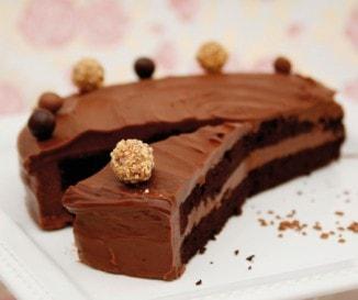 Ördögi csokoládétorta