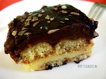 Egyszerű pudingos süti (Kedidili bisküvili)