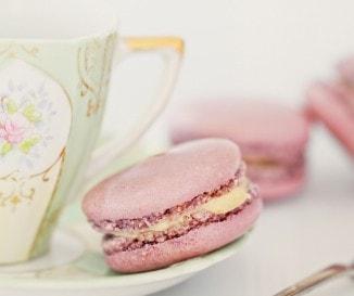 Macaron vaníliás krémmel (francia recept)