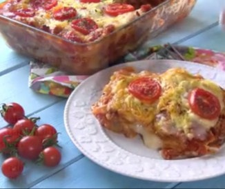 Őrülten finom lasagne