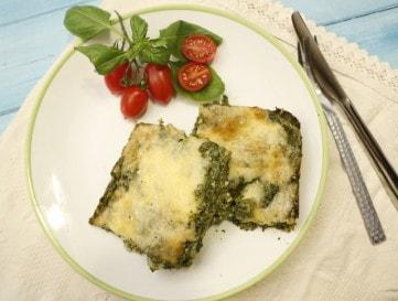 Krémes-spenótos lasagne - besamel nélkül - VIDEÓRECEPT