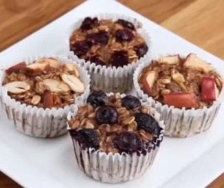 Szuperegészséges és villámgyors süti hétvégére: banános-zabpelyhes muffin - VIDEÓ!