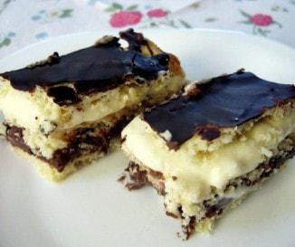 Csokis cseh krémes