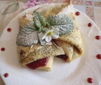 Chiamagos palacsinta epres-túrós töltelékkel