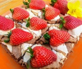 Epres-habos kakaós pite