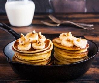 Amerikai palacsinta egyszerűen: banános-diós változat, amit te is ki akarsz próbálni!