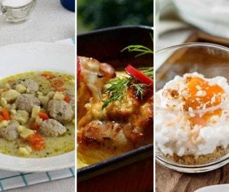 Heti top 10 recept: húsgombócleves és rákóczi túrós volt a kedvencetek