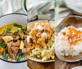 Hétvégi menü, ami elhozza tavaszt a konyhába is!