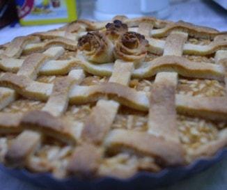 Amerikai rácsos-almás pite