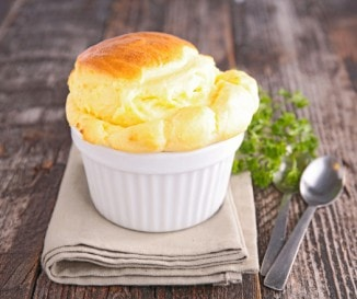 Egyszerű sajtfelfújt