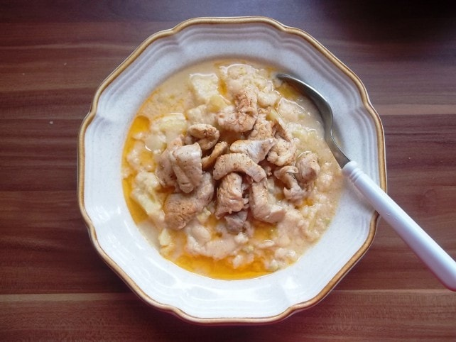 Receptjeim a Mindmegette ajánlásával: Tejfölös krumplifőzelék csirkemellfalatokkal és még 19 receptem