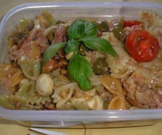 Olasz tonhalas tésztasaláta
