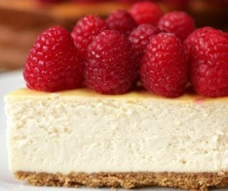 Könnyű málnás sajttorta egyszerűen, egészségesebben - cukor nélkül, joghurttal!