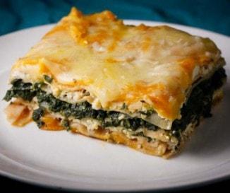 Spenótos lasagne - besamel nélkül!