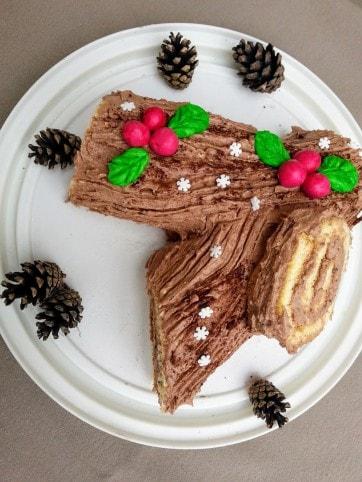 fatörzs torta képek Gesztenyés fatörzs torta Recept képpel   Mindmegette.hu   Receptek fatörzs torta képek