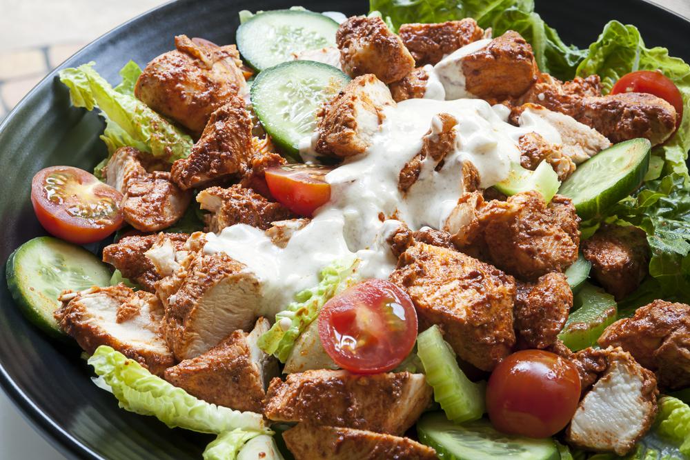 csirkemell és saláta diéta
