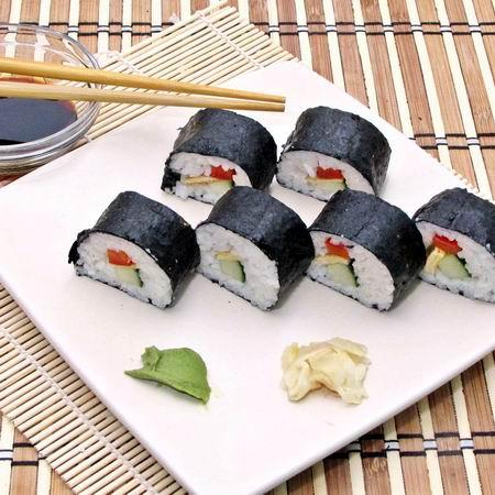 sushi tekercs fogyás)
