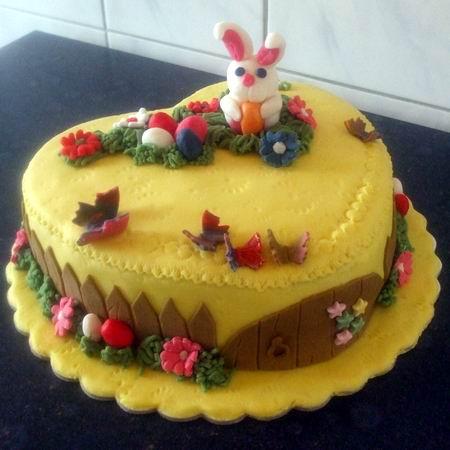 húsvéti torta képek Húsvéti nyuszis torta Recept képpel   Mindmegette.hu   Receptek húsvéti torta képek