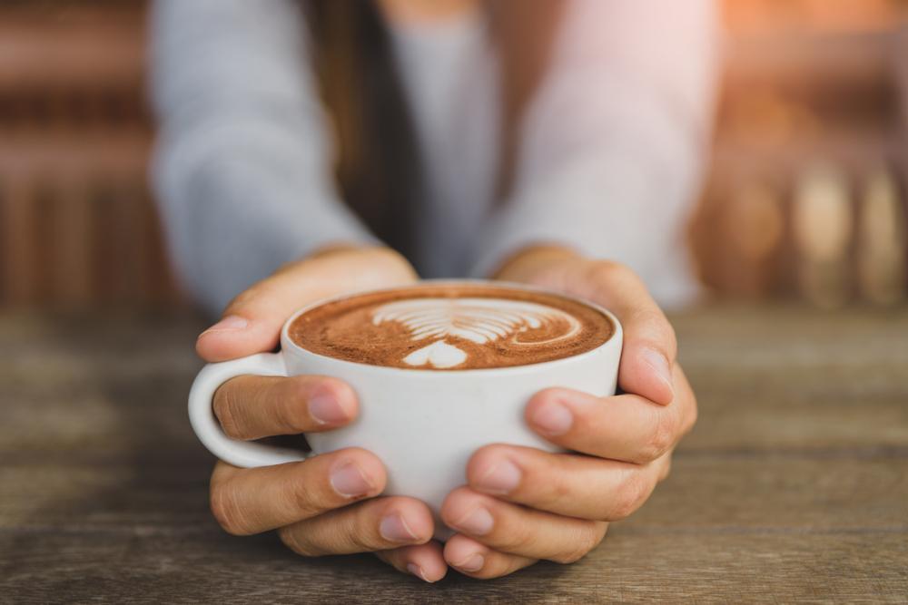 kávézó tejeskávé fogyás