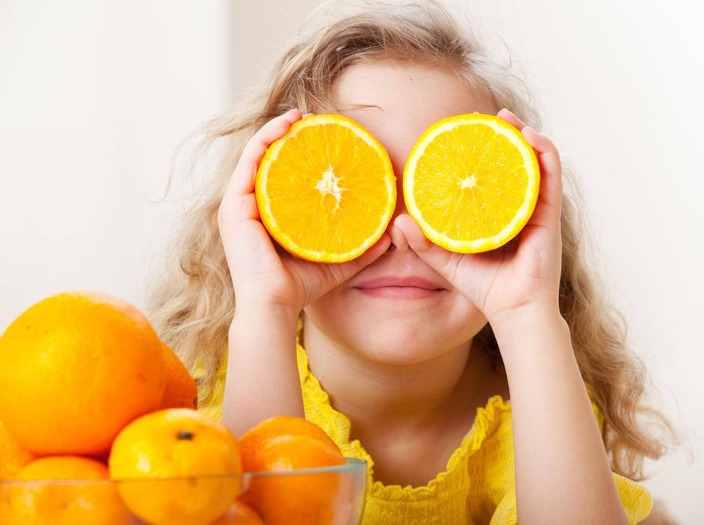 narancs a látáshoz
