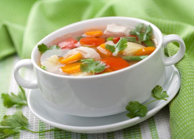 fogyni levessel)