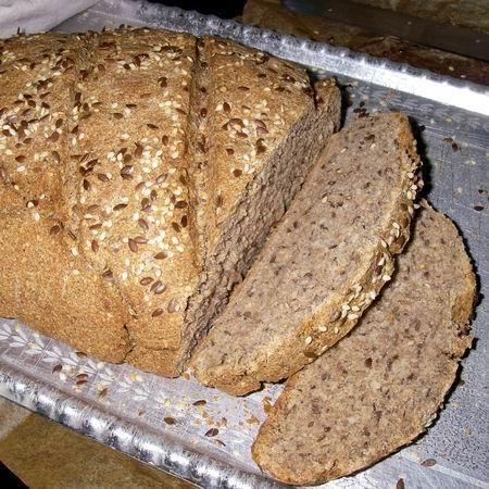 Teljes kiőrlésű kenyér recept sütőben