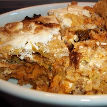 Takarékos konyha: Rizses rakott káposzta/hús nélkül