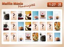 Muffin Mánia memóriajáték